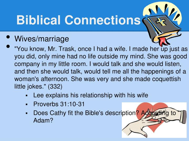 Biblical Connections