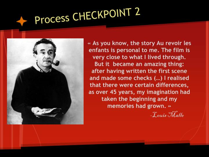 Process CHECKPOINT 2