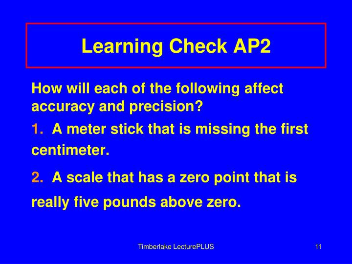 Learning Check AP2