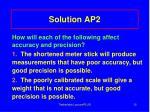 solution ap2
