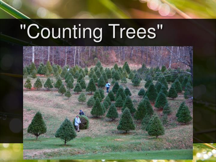 """Counting Trees"""