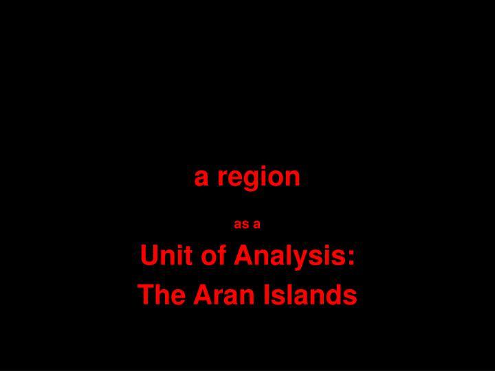 a region
