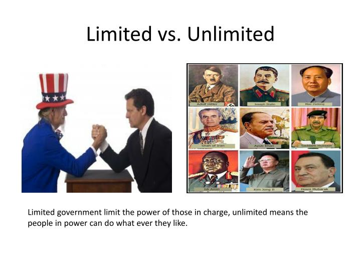 Limited vs. Unlimited