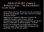 book of daniel chapter 5 belshazzar s feast the fall of babylon12