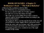 book of daniel chapter 5 belshazzar s feast the fall of babylon2