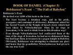book of daniel chapter 5 belshazzar s feast the fall of babylon5