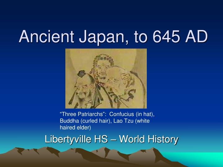 Ancient japan to 645 ad