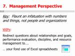 7 management perspective