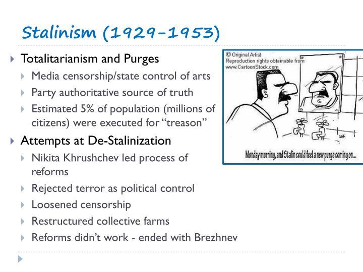 Stalinism (1929-1953)