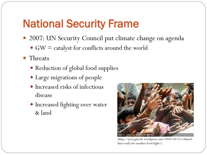 National Security Frame