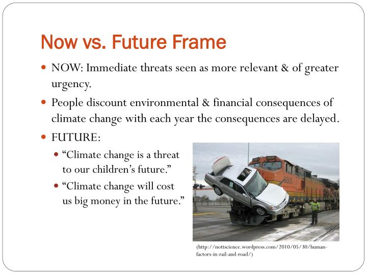 Now vs. Future Frame