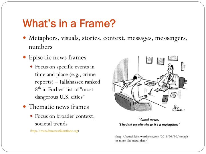 What's in a Frame?