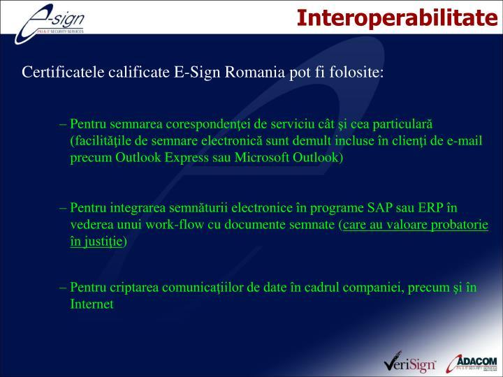 Interoperabilitate