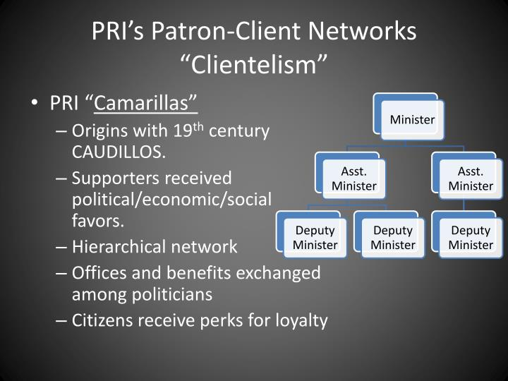 PRI's Patron-Client