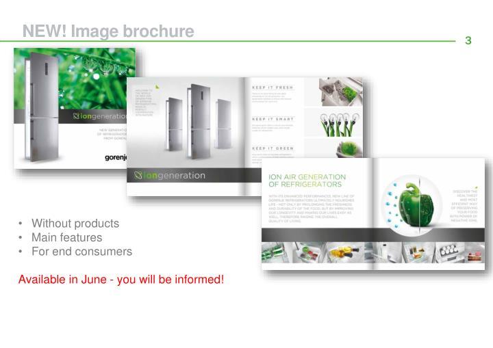 NEW! Image brochure