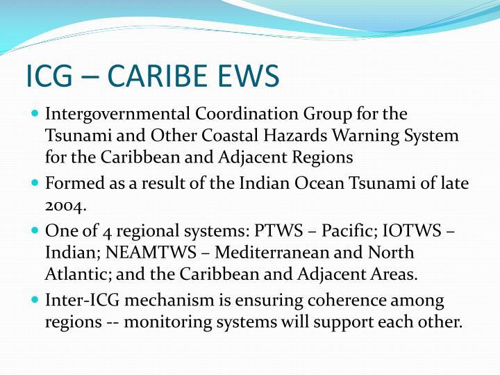 ICG – CARIBE EWS