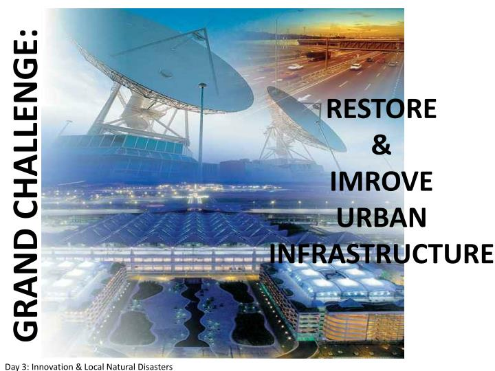 restoring and improving urban infrastructure Restoring us forests can help solve our water infrastructure crisis  to plant urban forests that reduce the  how forest restoration can safeguard and even improve the performance of our.
