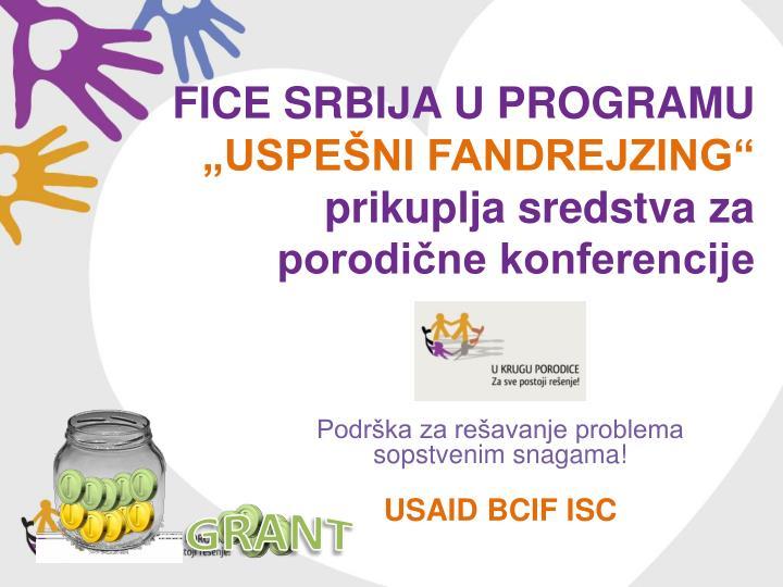 FICE Srbija u Programu