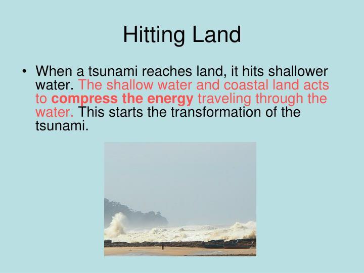 Hitting Land