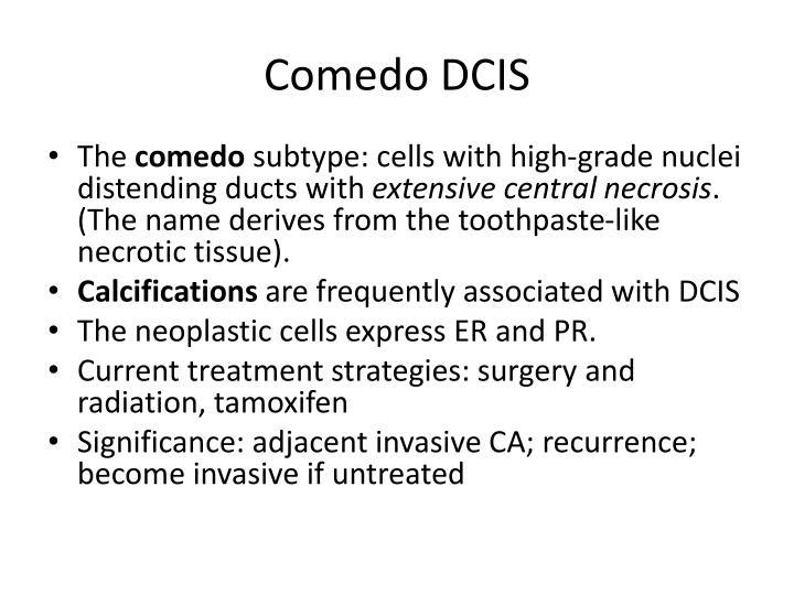 Comedo DCIS