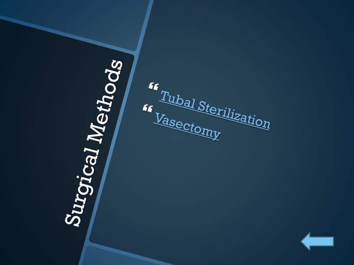 Tubal Sterilization