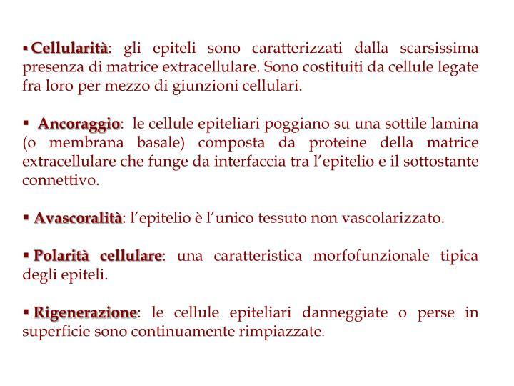 Cellularità