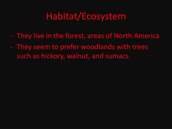 Habitat/Ecosystem
