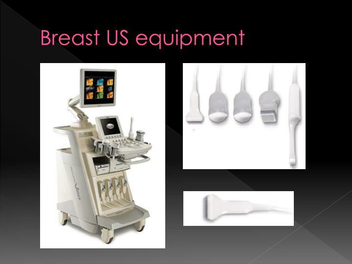 Breast US equipment