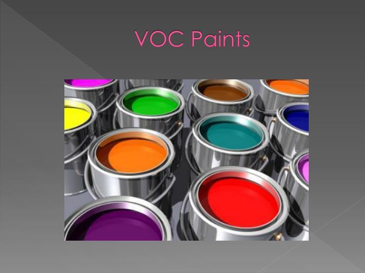 VOC Paints