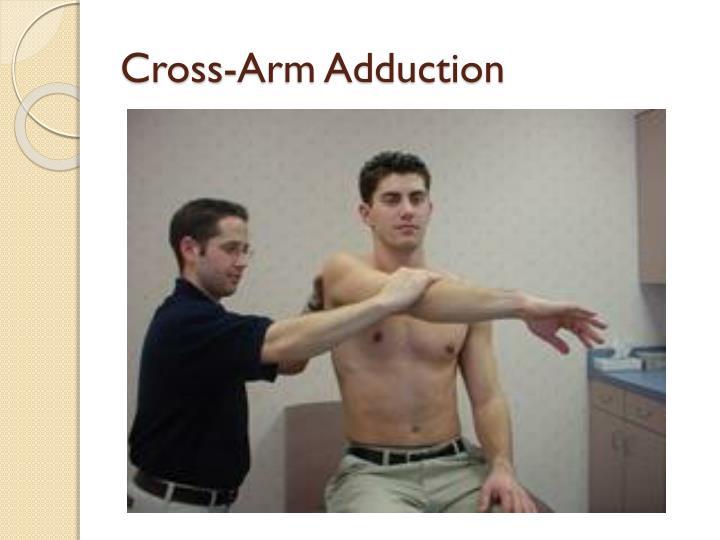 Cross-Arm Adduction