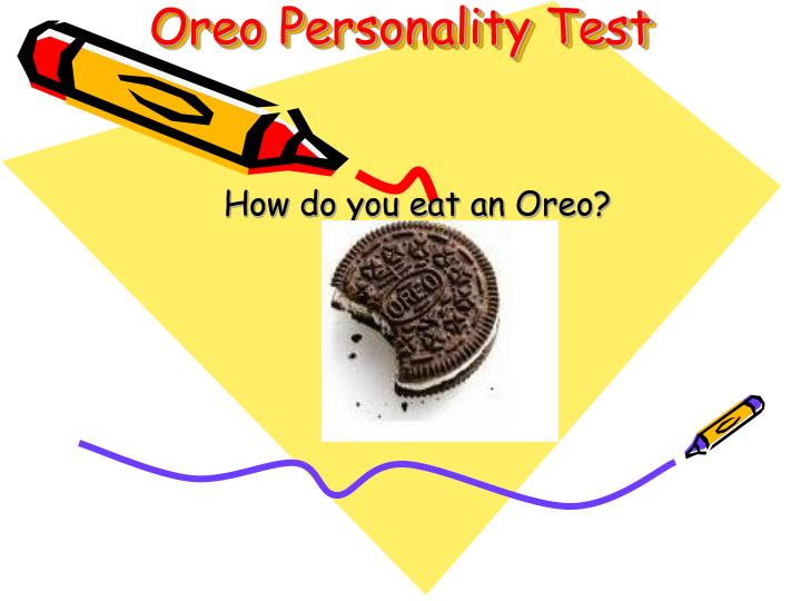 Oreo Personality Test
