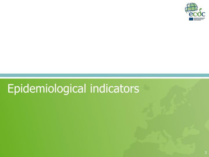 Epidemiological indicators