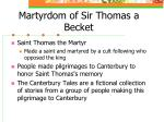 martyrdom of sir thomas a becket1