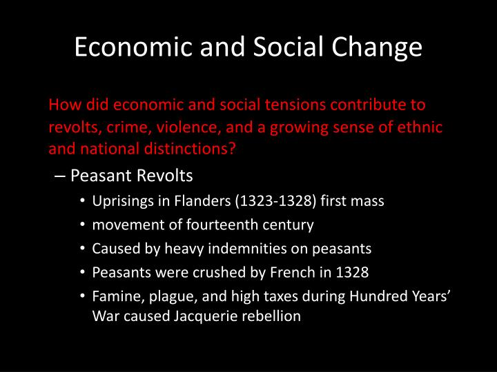 Economic and Social Change