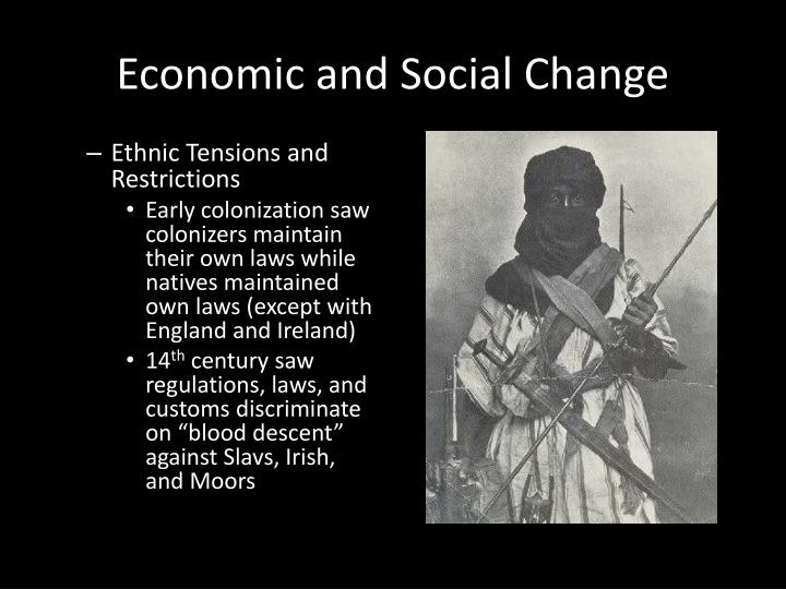 Economic and Social Change