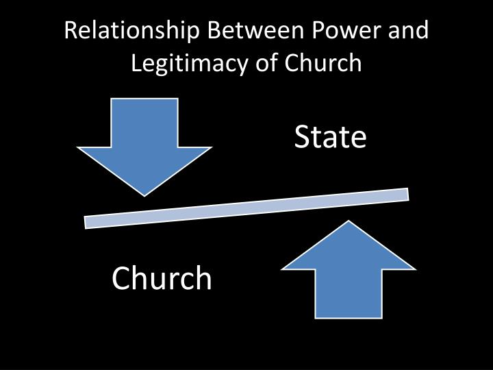 Relationship Between Power and Legitimacy of Church