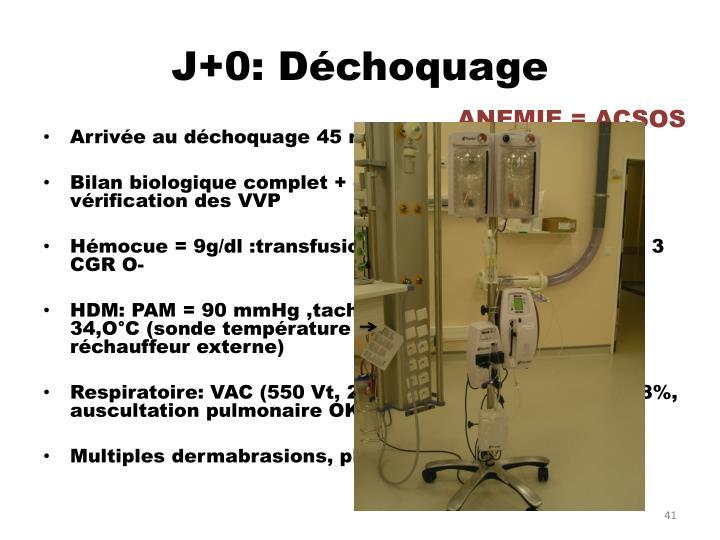 J+0: Déchoquage