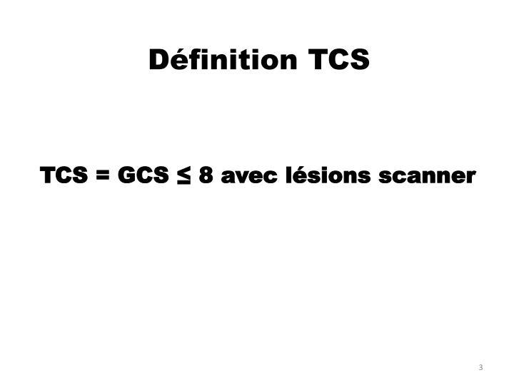 Définition TCS