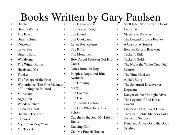 the rifle by gary paulsen book report I need as much info as i can on this book so i can write a book report has anyonne read the book the rifle by gary paulsen.