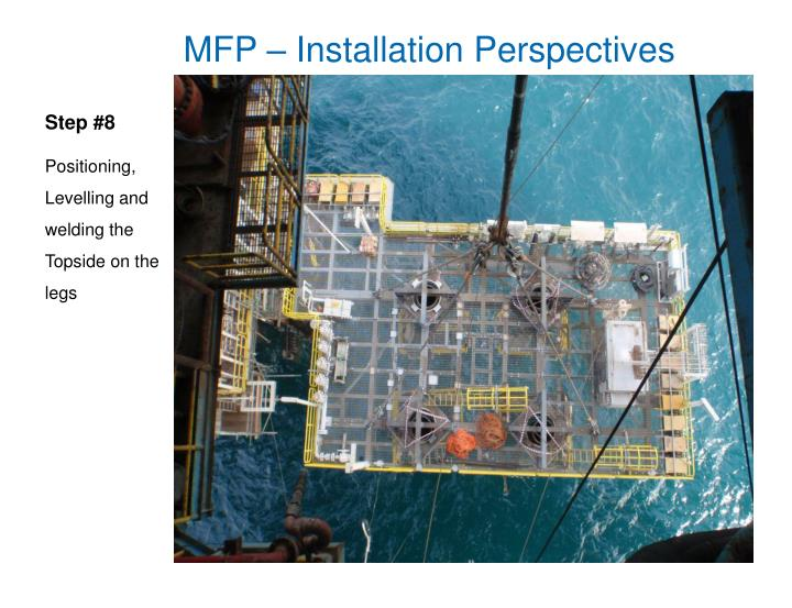 MFP – Installation Perspectives