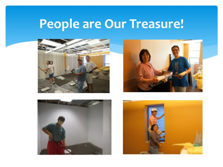 People are Our Treasure!