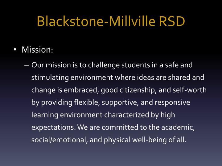 Blackstone-Millville RSD