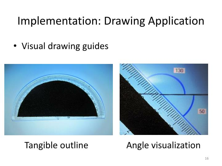 Implementation: Drawing Application