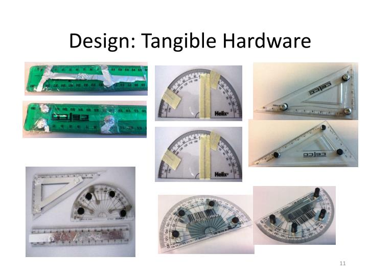 Design: Tangible Hardware