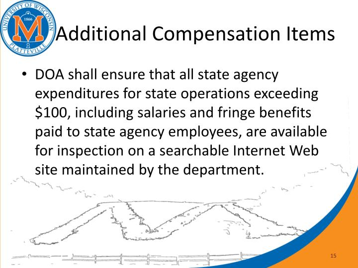 Additional Compensation Items