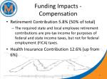 funding impacts compensation