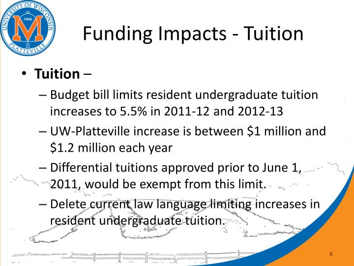 Funding Impacts - Tuition