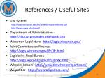 references useful sites