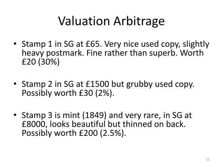 Valuation Arbitrage