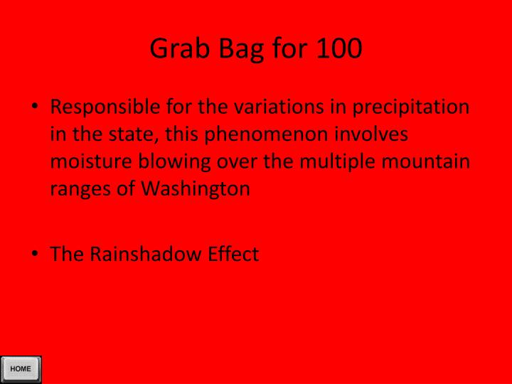 Grab Bag for 100